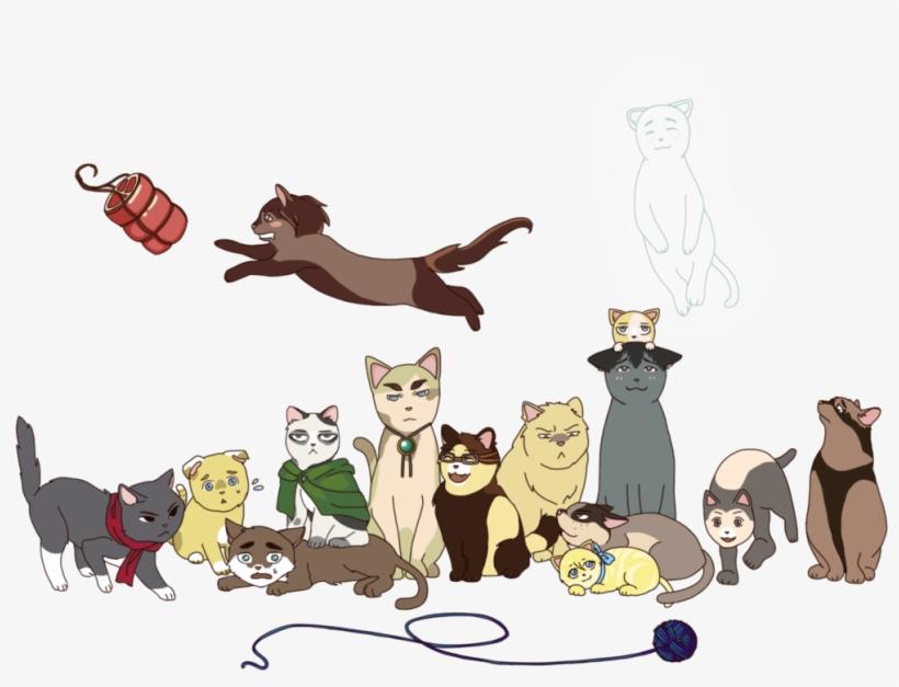 Grumpy Cat Christmas Clipart Shingeki No Kyojin Cats Free Transparent Png Download Pngkey