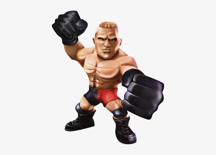 Brock Lesnar Sc Cut By Danger Liam - Wwe/slam City Season 1/dvd, transparent png #606869