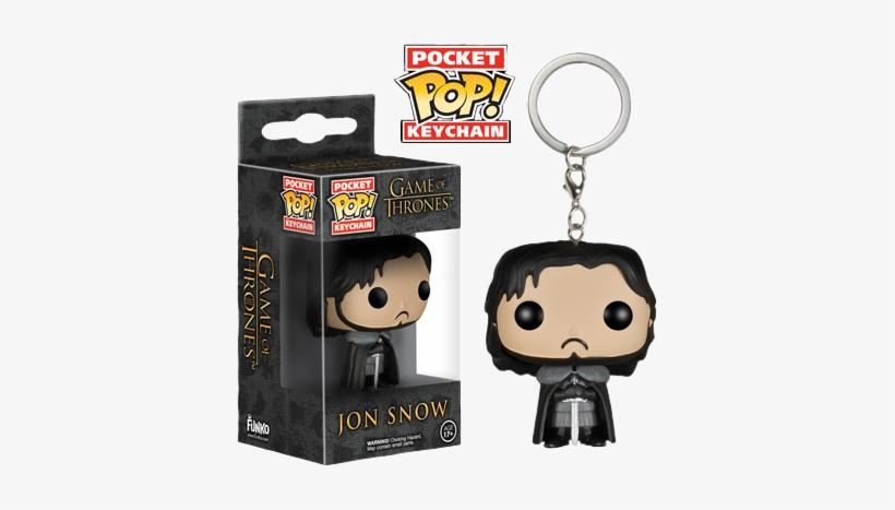 Game Of Thrones - Pocket Pop Keychain Walking Dead, transparent png #607422