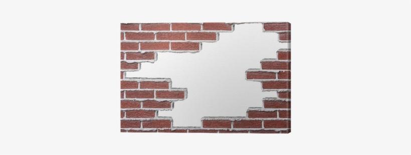 Broken Brick Wall, transparent png #608016