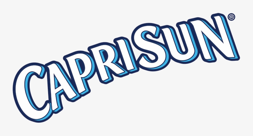 Caprisun-logo - Capri Sun 100% Fruit Punch 10 Ct, transparent png #608279