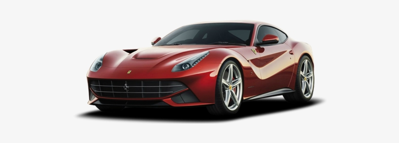 Luxury Cars Ferrari F12 Berlinetta White Background Free Transparent Png Download Pngkey