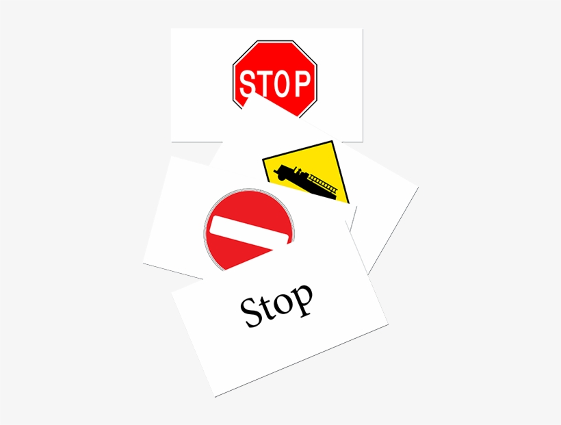 Review Your Road And Safety Signs - Stop Sign, transparent png #6008736