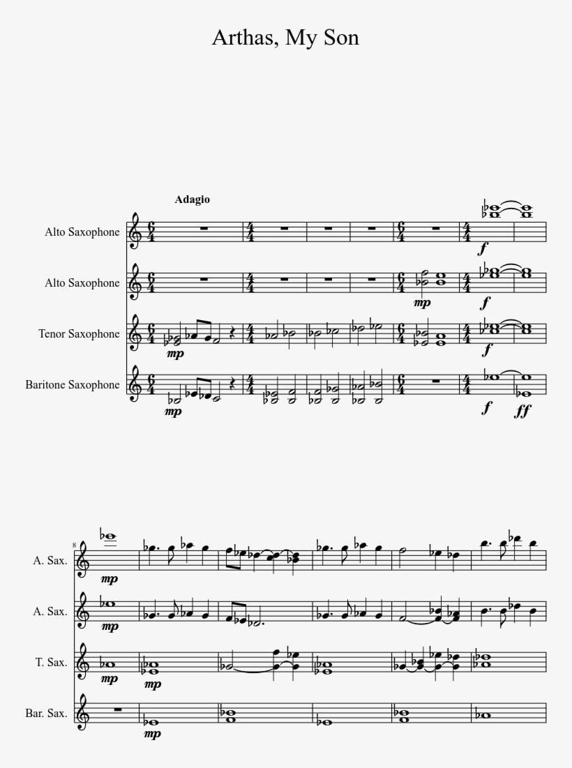 Uploaded On Oct 28, - League Of Legends Alto Sax Sheet Music, transparent png #6009437