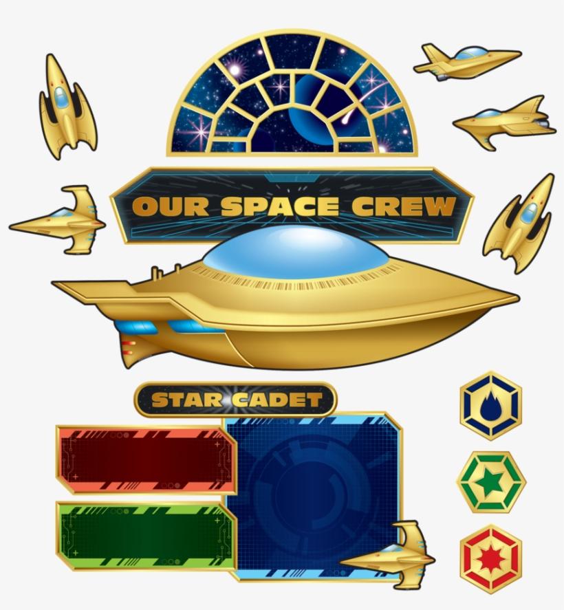 Tcr5850 Stellar Space Bulletin Board Image - Teacher Created Resources Space Bulletin Board (tcr5850), transparent png #6020157