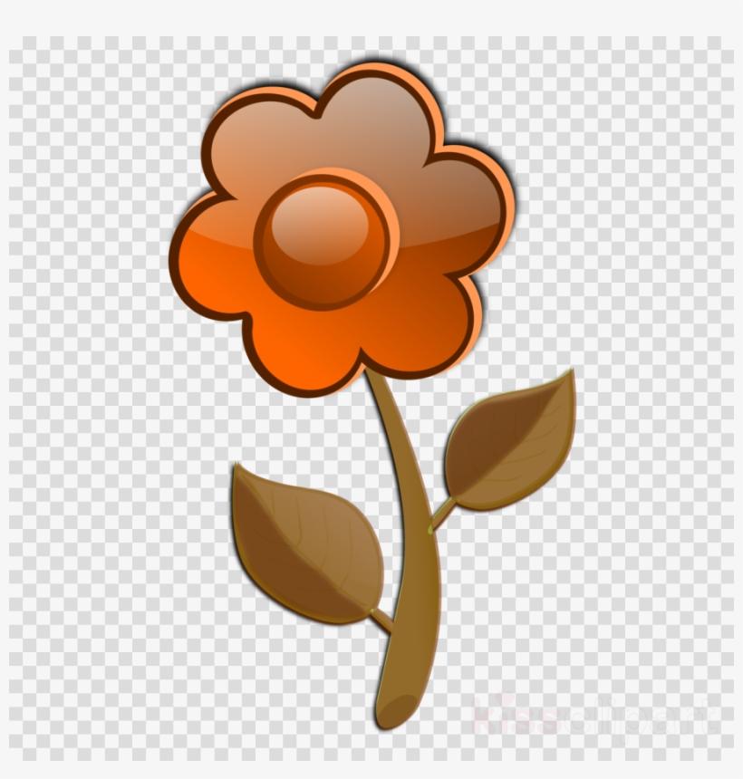 Cartoon Pink Flower Clipart Flower Clip Art Tallos De Flores