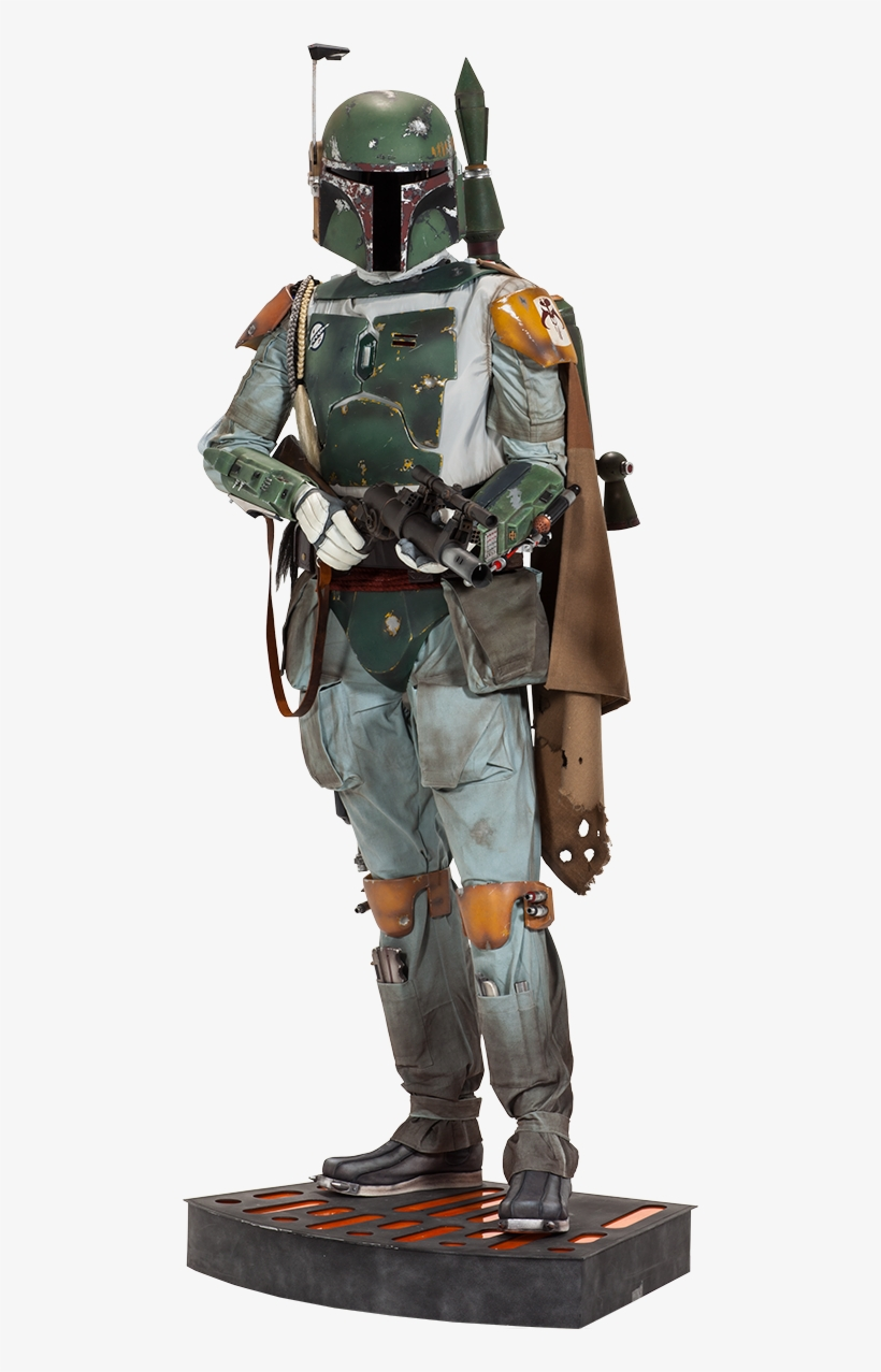 Boba Fett Life-size Figure - Boba Fett Star Wars Life-size Figure, transparent png #6024850