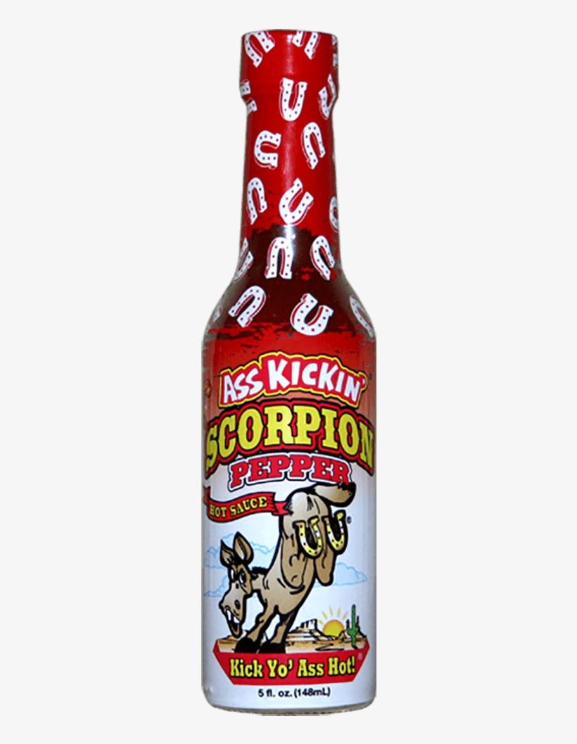 Ass Kickin' Scorpion Pepper Hot Sauce, transparent png #6026245