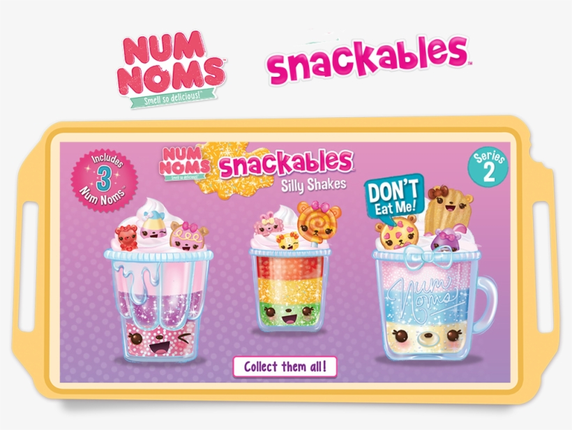 Skip To Content - Num Noms Silly Shakes, transparent png #6031099