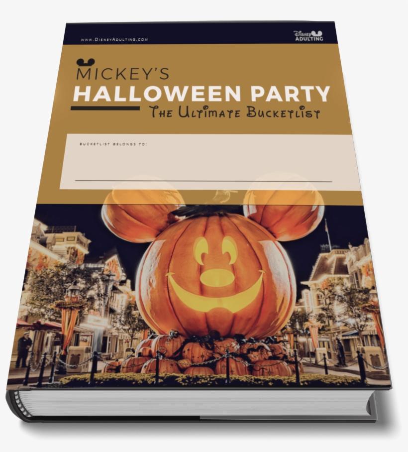 Halloween Party Guide - Walt Disney World Resort, transparent png #6033138