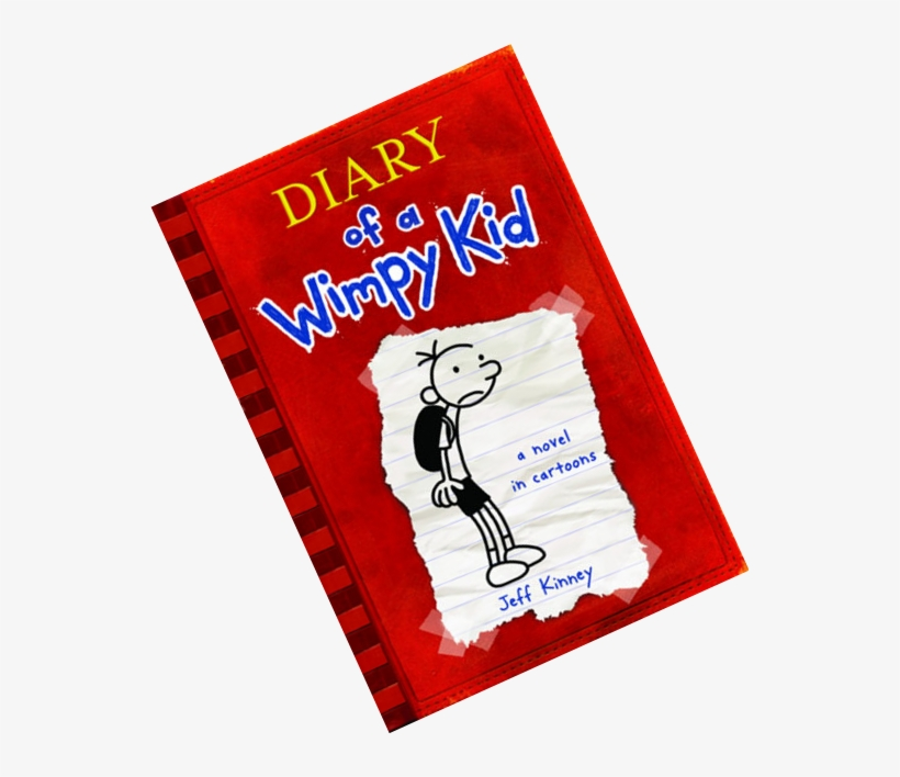 Diary Of A Wimpy Kid`s Author Is Jeff Kinney - Diary Of A Wimpy Kid (book 1), transparent png #6036083
