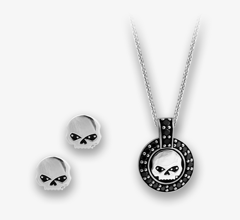 Harley Jewelry Set - Mod Harley Davidson Jewelry Png, transparent png #6041871