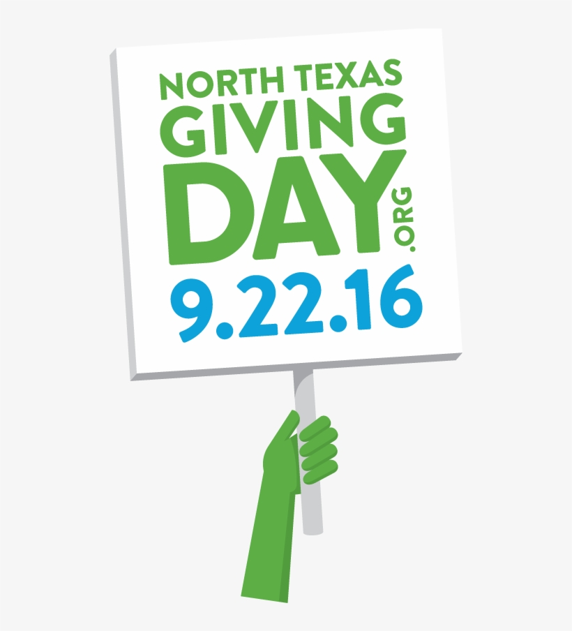 North Texas Giving Day Is September 22, 2016 And Priderock - North Texas Giving Day 2018, transparent png #6042552