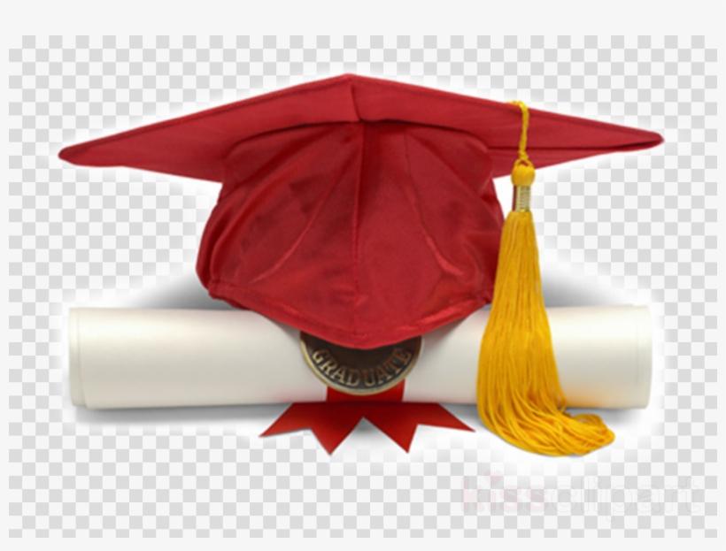 Download Maroon Graduation Cap Diploma 3d Clipart Square Maroon Graduation Cap Free Transparent Png Download Pngkey