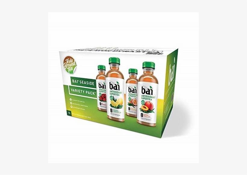 Auction - Bai Supertea Variety Pack (18 Fl. Oz. Bottles, 15 Pk.), transparent png #6056207