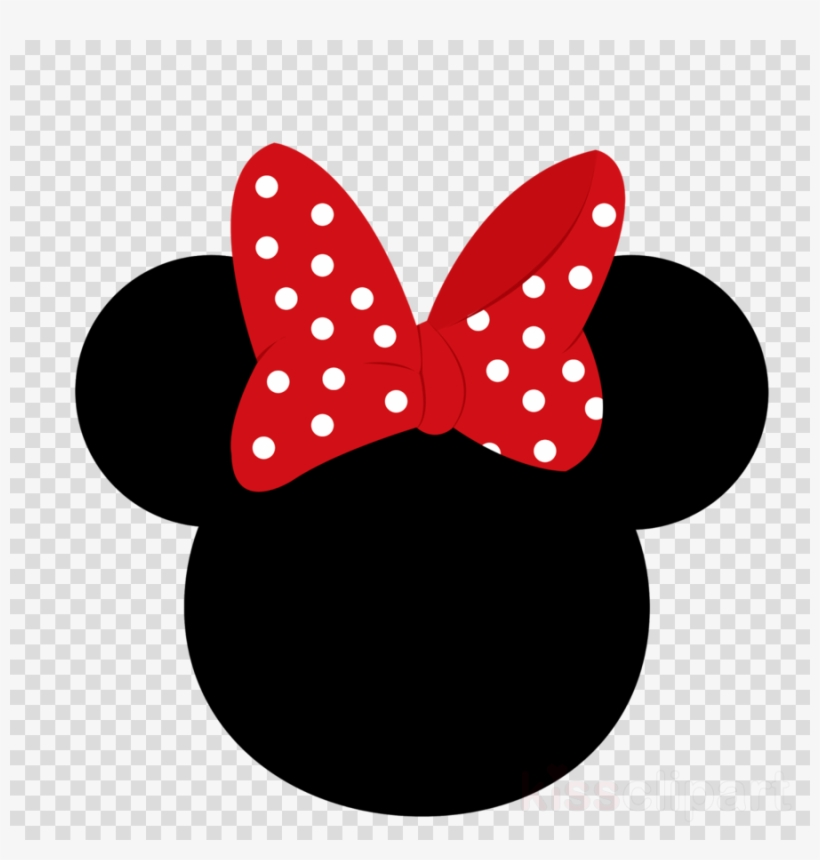 Minnie Mouse Head Clipart Minnie Mouse Mickey Mouse - Minnie Mouse Ears, transparent png #6066030