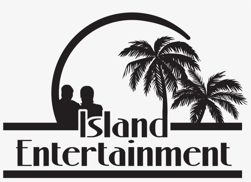 Island Entertainment Kc - Black Palm Trees Clipart, transparent png #6080656
