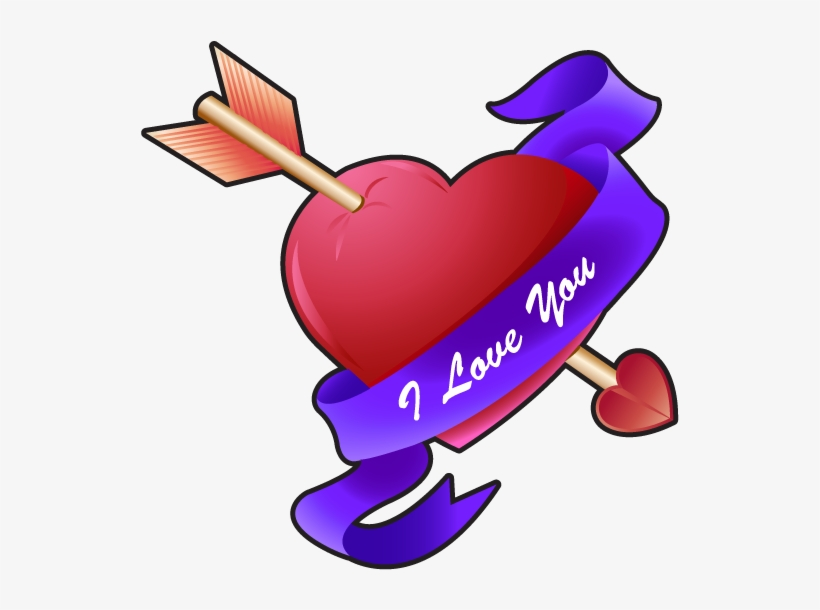Free Clip Art - Love You So Much, transparent png #611276
