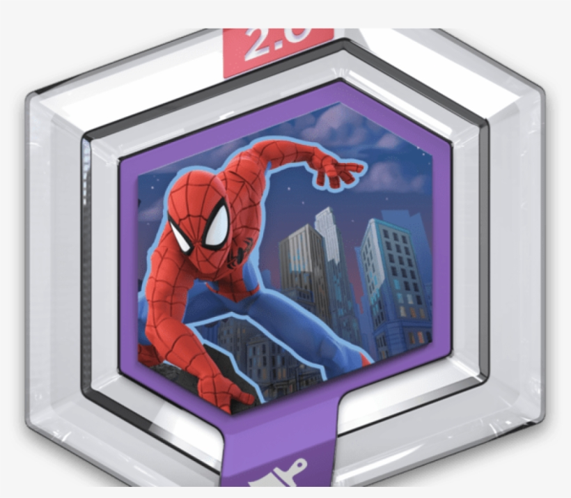 Spider Man Swings Into Disney Infinity Player Attack - Disney Infinity Power Disc A Small World, transparent png #611771