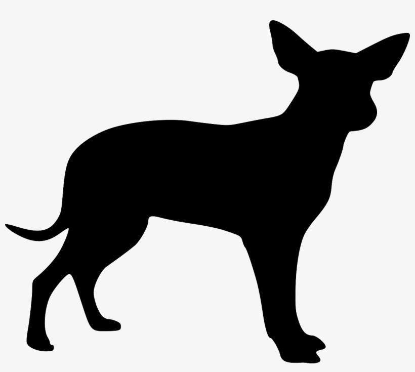 Puppy Clipart Silhouette Cachorro Png Desenho Preto Free