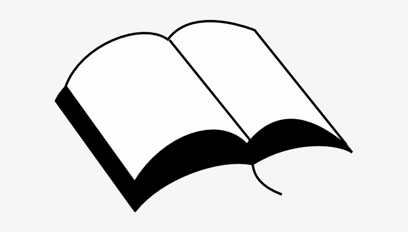 Open Book Silhouette Png Svg Free - Bible Silhouette, transparent png #612446