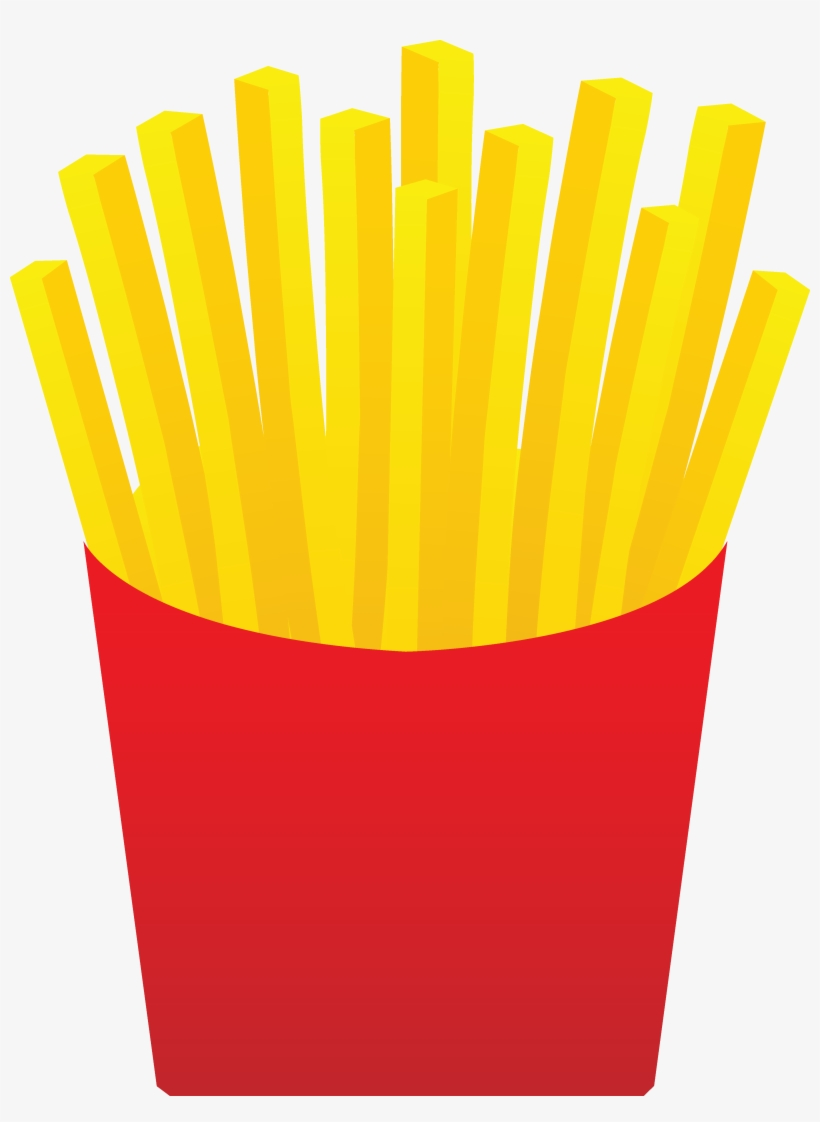 French Fries Clipart Png Image Free - French Fry Clip Art, transparent png #612508