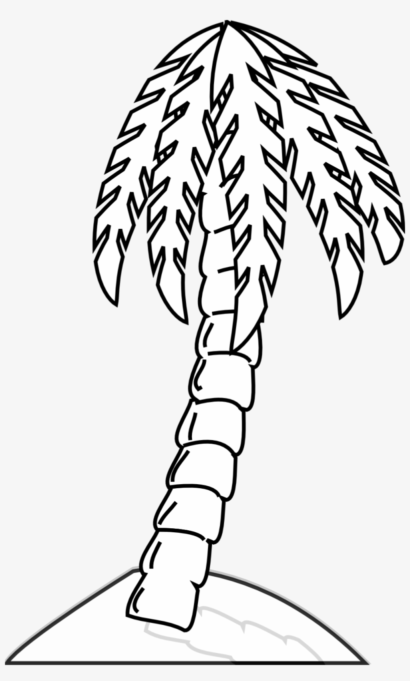 Narra Tree Clipart Black And White Image Stock Black And White