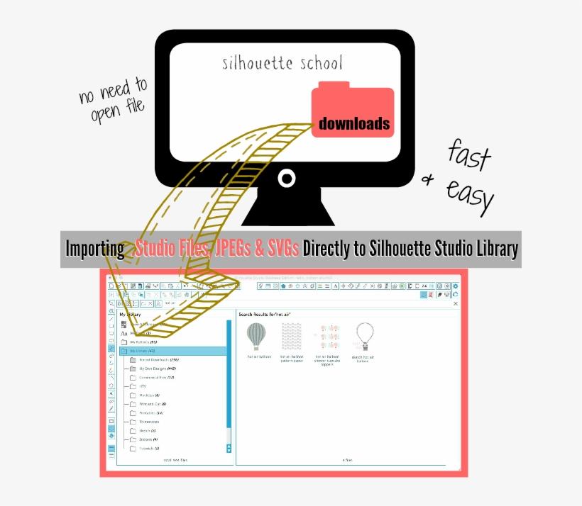 Svg File, Jpeg, Svg, Silhouette Studio Library, Import