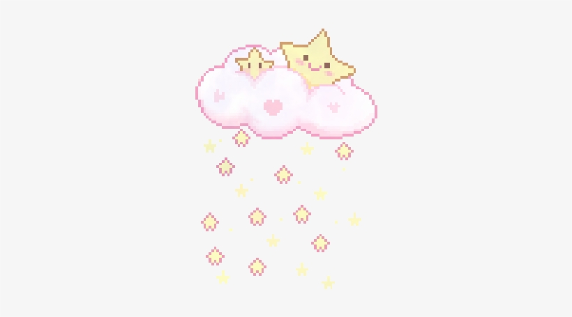 Me My Edits Kawaii Stars Pixel Art Pixel Transparent Cute