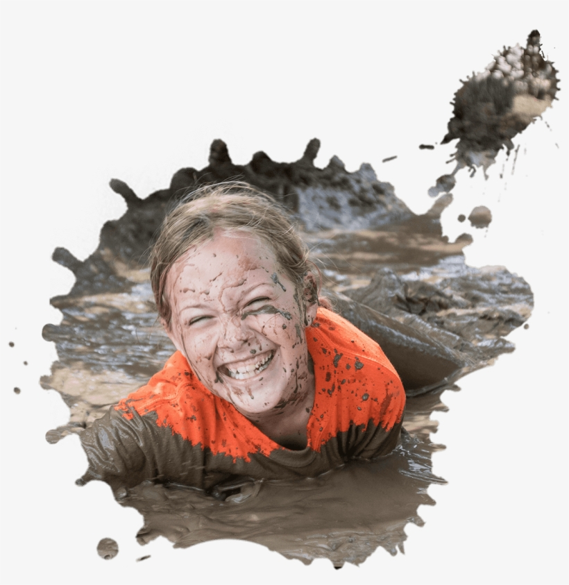 Hey Kids, Want To Play In The Mud And Not Get In Trouble - Mud Girl Kid, transparent png #616405