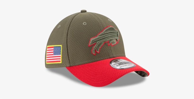 Buffalo Bills New Era Nfl On-field Collection Salute - Bills New Era 2017 Salute To Service Sideline 39thirty, transparent png #616516