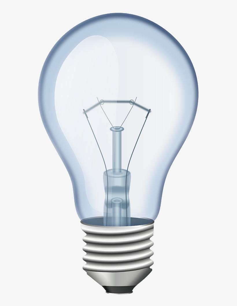 Light Bulb Png Picture - Incandescent Light Bulb, transparent png #617121