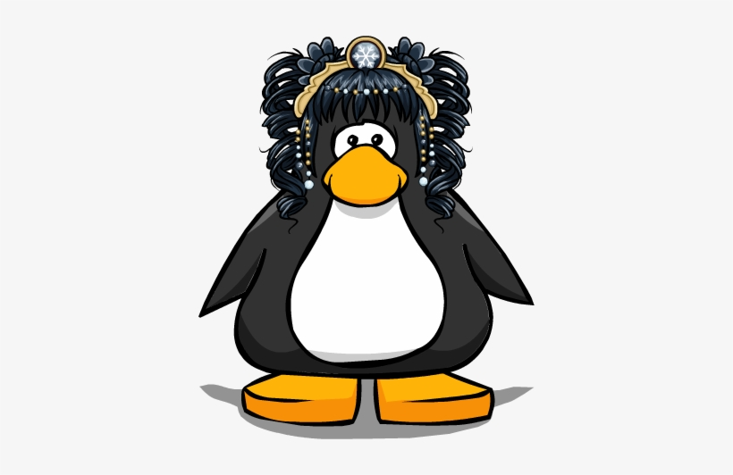 The Snow Fall From A Player Card - Club Penguin Tour Guide Hat, transparent png #618332