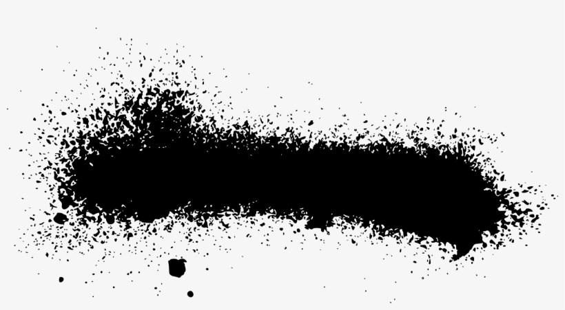 Black Paint Png - Black Spray Paint Png, transparent png #618576