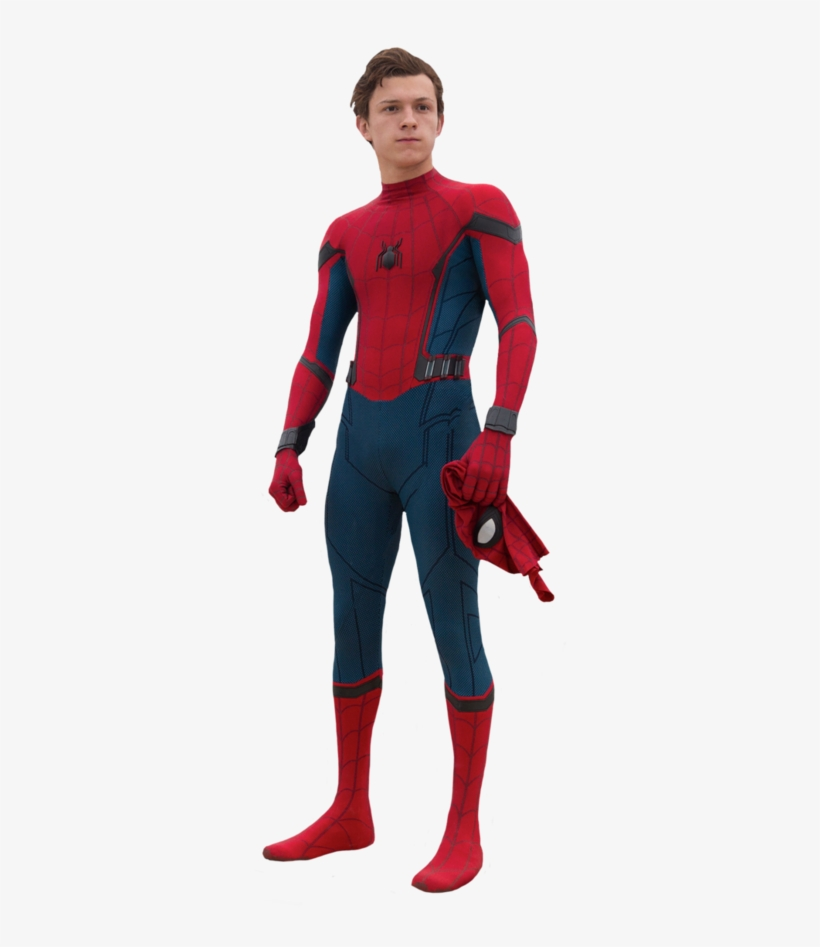 The Colossal Spider-man - Spider-man Homecoming Suit - Spider-man Cosplay 2017, transparent png #619492