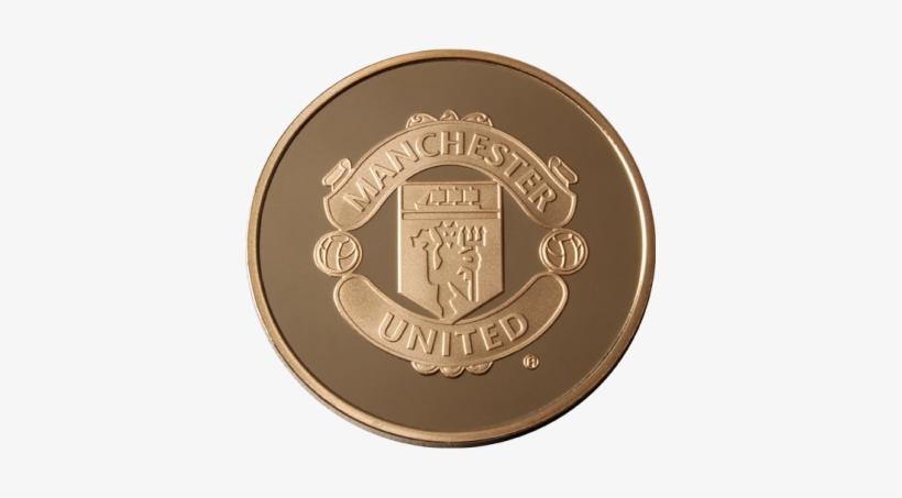 Manchester United 1 4oz Gold Medallion Manchester United Gold Logo Png Free Transparent Png Download Pngkey