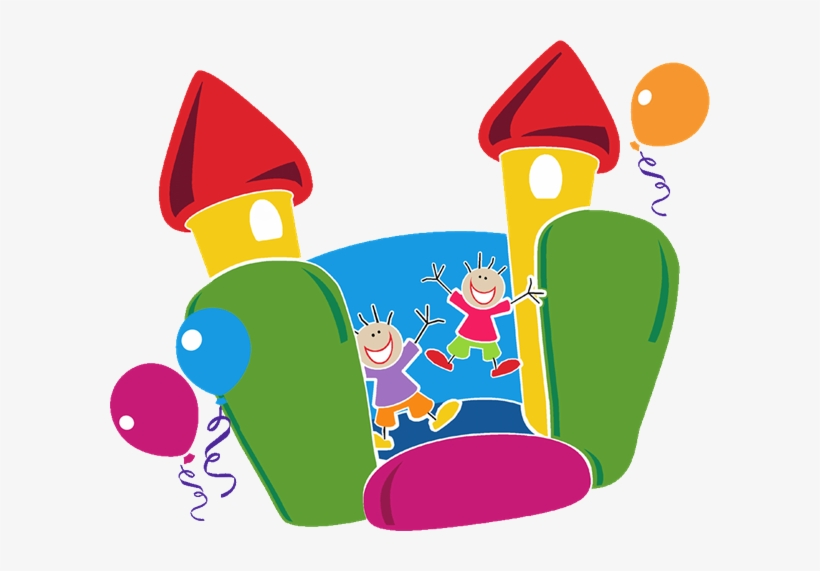 Free Bounce House Clip Art - Bouncy Castle Clip Art, transparent png #619595