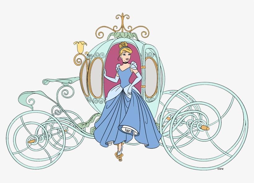 Cinderella Clip Art 4 - Disney Cinderella Carriage Clipart, transparent png #619645