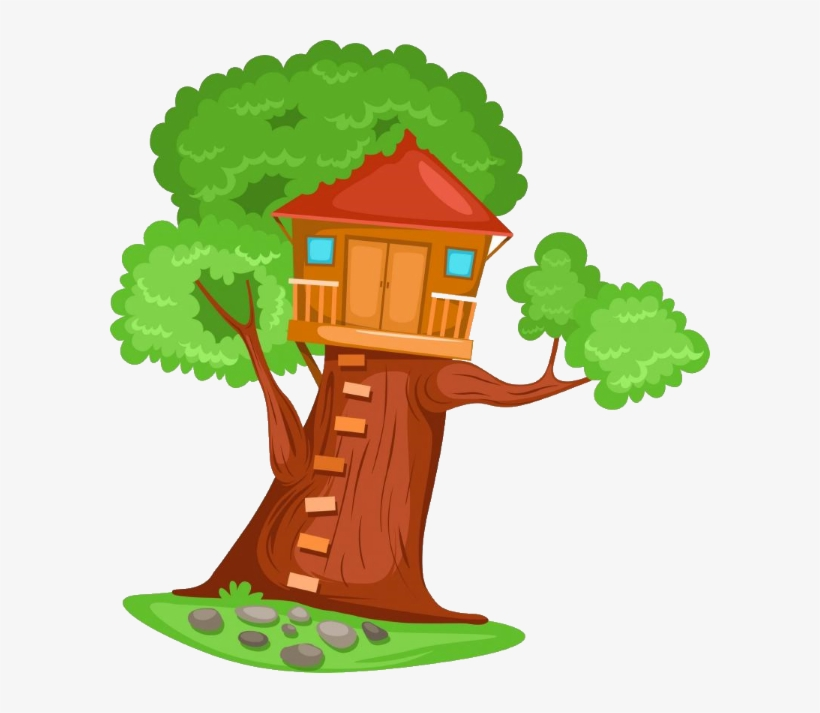 Tahnee & The Treehouse - Clip Art Tree House, transparent png #619646