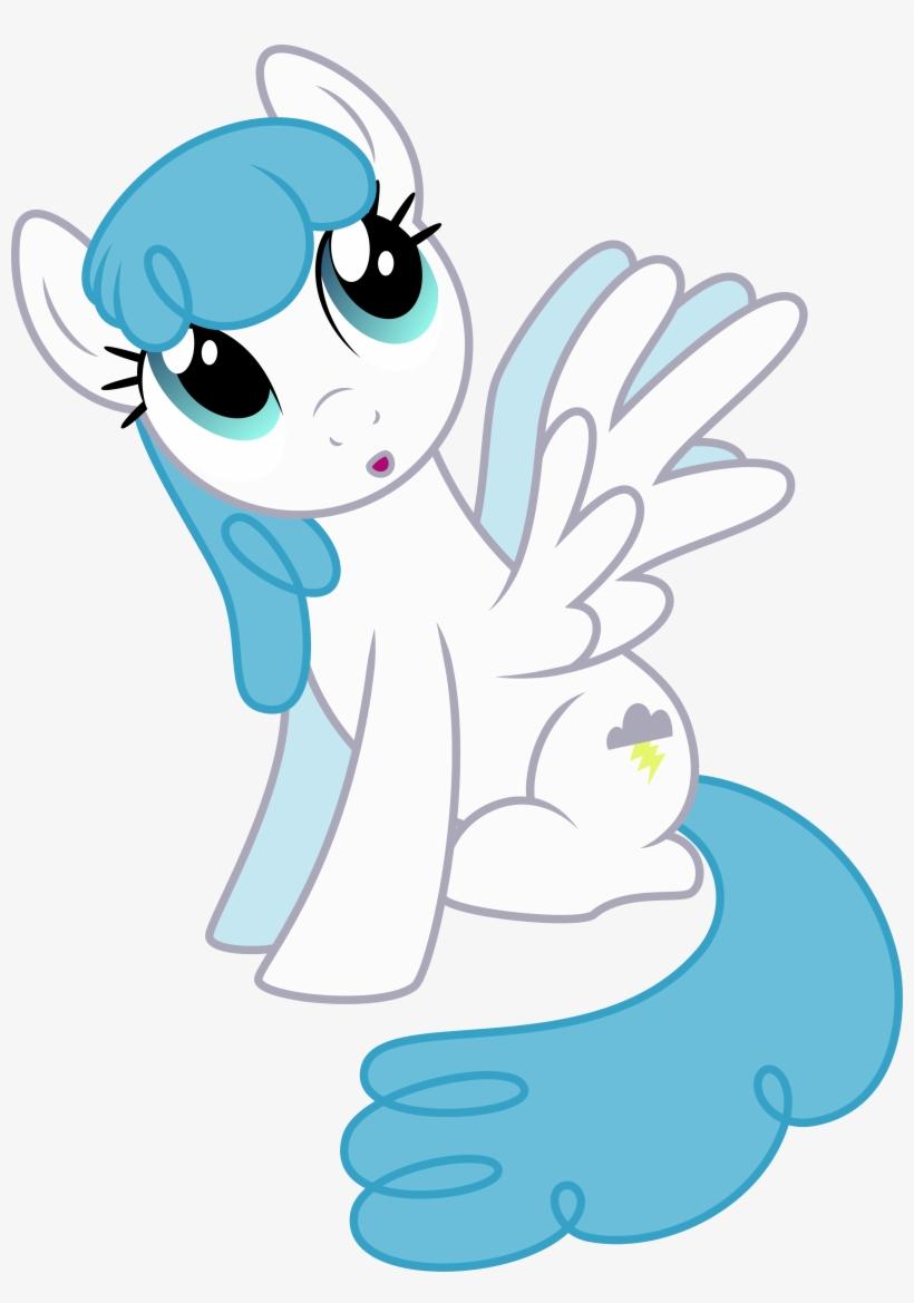 Silvervectors, Background Pony, Female, Lightning Bolt, - Mlp Lightning Bolt, transparent png #619999