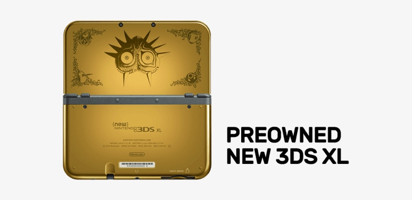 1 Of - New 3ds Xl Console Zelda Majora's Mask Edition (3ds), transparent png #6100081