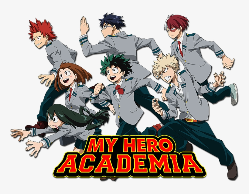 My Hero Academia Image - My Hero Academia Group, transparent png #6103328