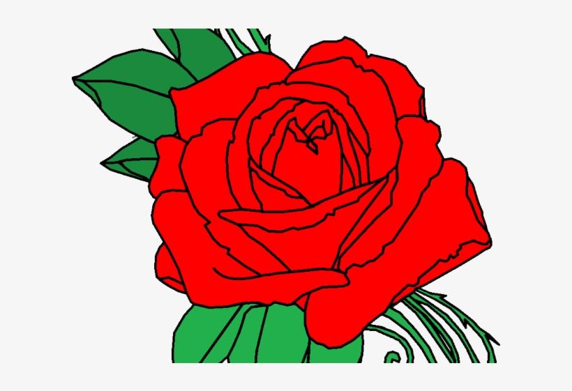 Flower Tattoo Png Transparent Images - Rose Tattoo Png, transparent png #6128831