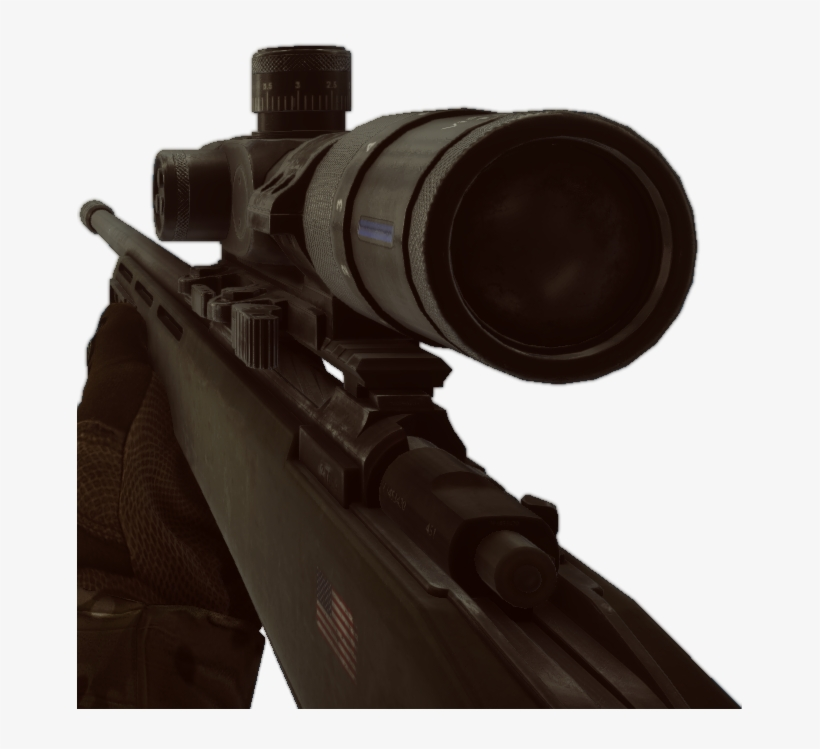 Vector Free Library Gol Magnum Rifle Bf Png - Rifle In First Person, transparent png #6140461