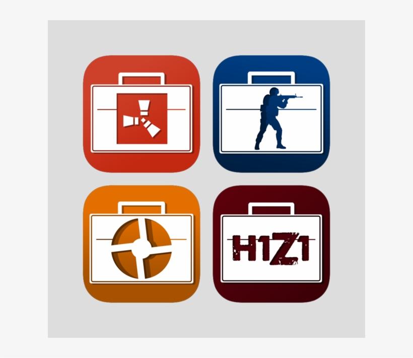 Market For Cs Go, Tf 2, Dota 2, H1z1, Rust, Warframe - Counter-strike: Global Offensive, transparent png #6147688