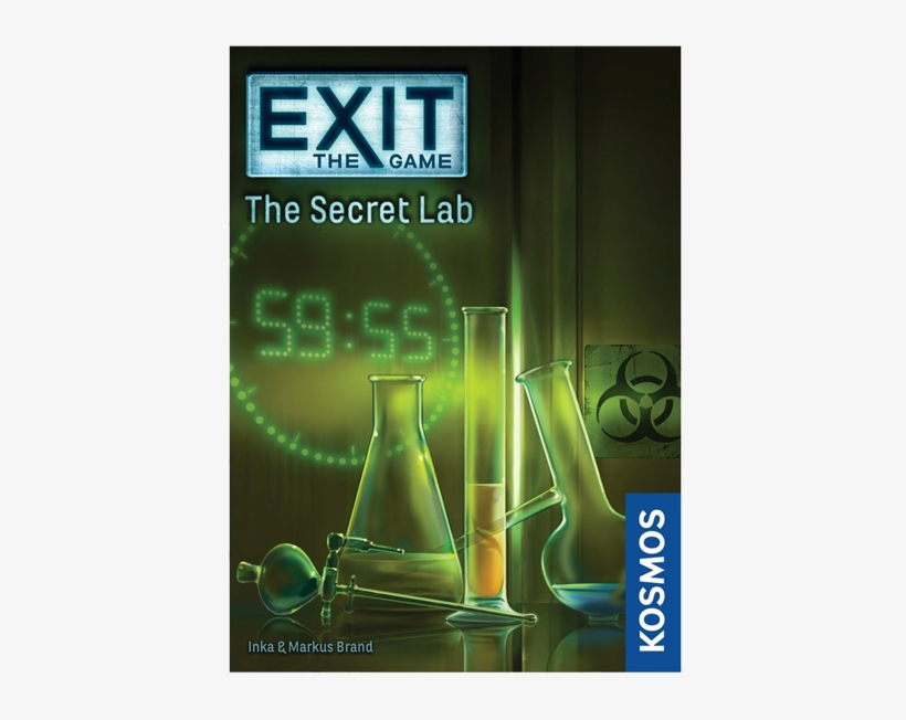 Exit The Game - Exit The Game - The Secret Lab, transparent png #6156147