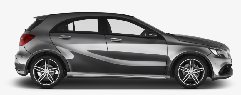 Mercedes Benz A Class Company Car Side View - Mercedes A Class Side View, transparent png #6164861