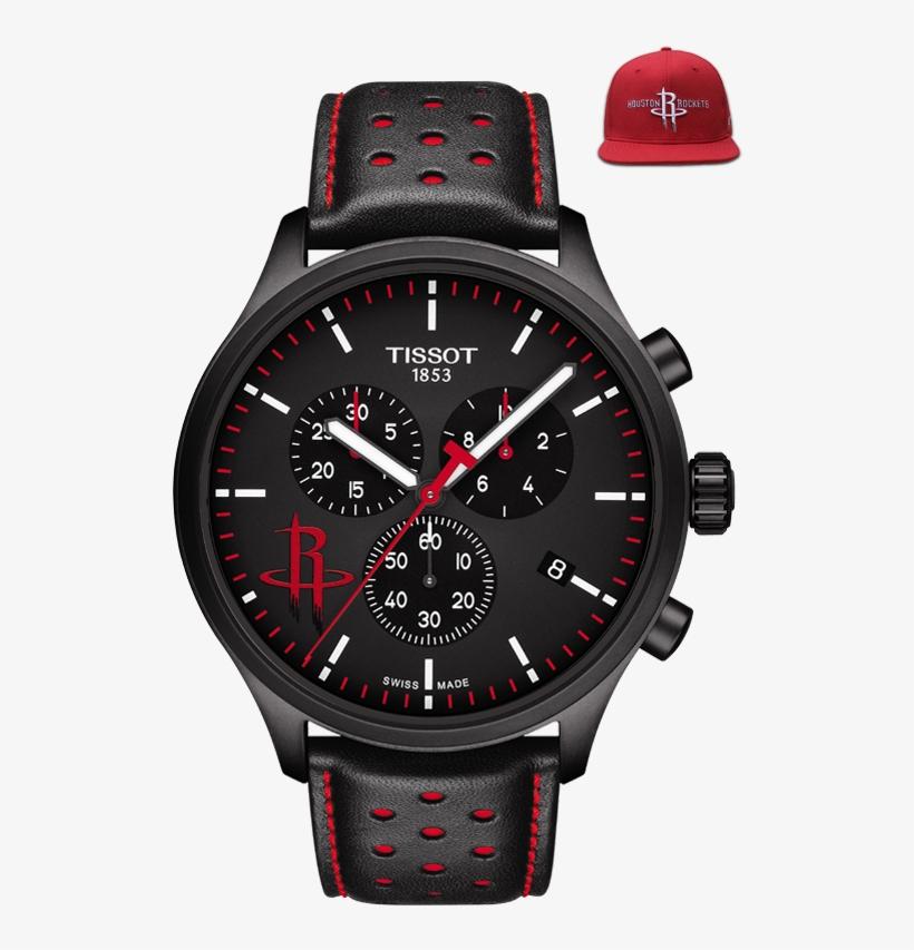 Tissot Chrono Xl Nba Chronograph Houston Rockets - Nba Watch, transparent png #6166569