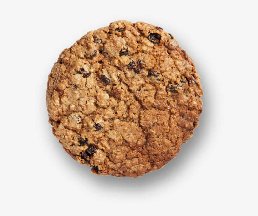 Cookie Oatmeal Raisin - Peanut Butter Cookie, transparent png #6167976
