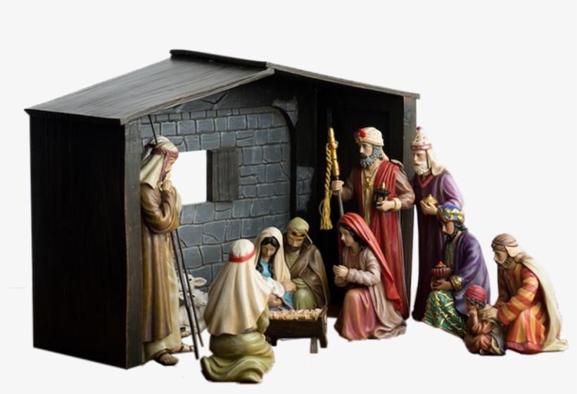 Greg Olsen Christmas Nativity Set - Greg Olsen The Nativity - Christmas Nativity Set, transparent png #6171784